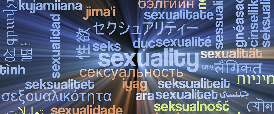 Montage or international words for sexuality
